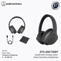 Audio Technica ATH ANC700BT Wireles Noise Cancelling Headphones Black