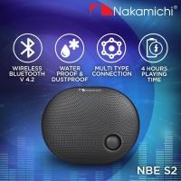 Nakamichi NBE S2 Speaker Portable Audio Wireless Bluetooth Black