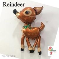 Balon Foil Reindeer XMAS/ Natal Merry Christmas Jumbo RUSA karakter