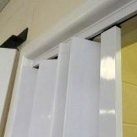 pintu khusus penyekat ruangan partisi jual pintu lipat pvc terbaru