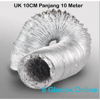Flexible Ducting Alumunium 10CM / Alumunium Flexible Ducting 4