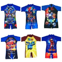 Baju Renang Anak Laki-Laki Karakter Usia TK 3-6th