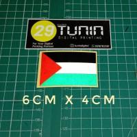Bendera Palestina Bahan Reflector Cutting Sticker Stiker