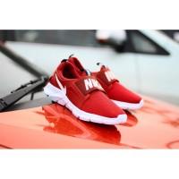 Sepatu Slip On Pria Nike Radial 7 Merah Putih Casual Import