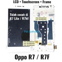 LCD Touchscreen Fullset Plus Frame Bezzel Original OEM Oppo R7 - R7F