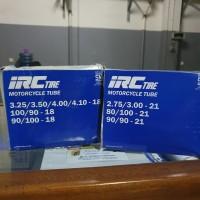 Paket Ban Dalam IRC 3.25/3.50/4.10-18 dan 2.75/3.00-21 Motor Trail