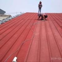 Rangka baja ringan atap spandek pasir