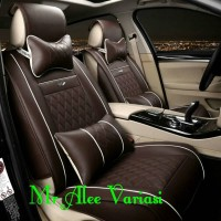 Sarung jok mobil innova Luxury capten seat 2013 bahan Mbtech