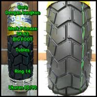 Ban motor tubles matic ring 14 Ukuran 80/90 ban depan beat Vario 110