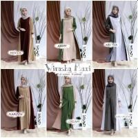 Wirasha Maxi Gamis Baju Muslimah Cantik Murah Ibu Hamil Bumil Busui