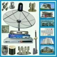 antena parabola tv 4 satelit free instalasi