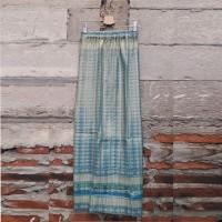 Thai Skirt / Rok Panjang Plisket Songket Thailand