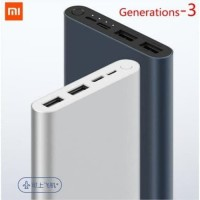 Power Bank Powerbank Xiaomi Gen 3 10000Mah Fast Charging Original