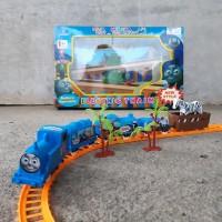 Mainan Kereta Api Rel Thomas Edukasi - Rail Train Hewan Anak Edukatif