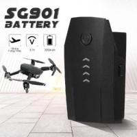 Original SG901 Parts Batre Battery 3.7V 2200mAh Drone Baterai LED