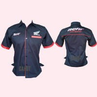 Kemeja Honda Beat - Baju Seragam Otomotif