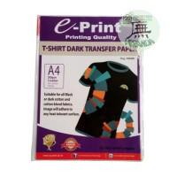 e-Print T-Shirt Dark Transfer Paper A4/300gsm 5's