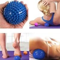 Bola Duri Terapi Yoga Pijat Akupuntur Spiky Massage Ball PVC 7.5cm