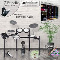 Drum Elektrik Yamaha DTX542K + Pedal / DTX542 K / DTX 542 / DTX 542K