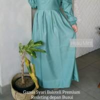 Big Sale Terlaris!! Gamis Syari Bahan Baloteli Original Baju Muslim