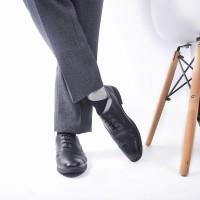 Sepatu Pria Pantofel Kulit Asli Azcost Oxford - Hitam, Sepatu Kerja
