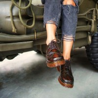 Sepatu Wanita Azcost Longwing Kulit Asli, Handmade Lokal/Sepatu Cewek
