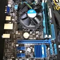 Paket Core i5 3470 H61 Asus / Gigabyte LGA 1155 Ram Ddr3 4gb Garansi