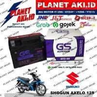 Aki Motor Suzuki Shogun Axelo 125 GTZ5S GS Y Accu Kering MF