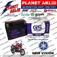 Aki Motor Yamaha New Vixion GTZ5S GS Y Accu Kering MF