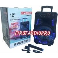ASATRON Speaker Portable VENUS HT 8880 UKM 12inch