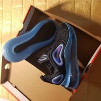 SEPATU NIKE AIR MAX 720 BLACK BLUE