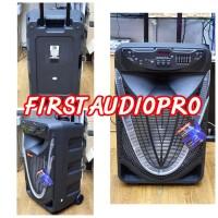 ASATRON DIAMOND Speaker Portable Meeting Wireless HT 8873 15 inch