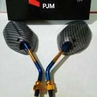 Kaca Spion Honda Beat Carbon / Spion Karbon 2 Tone Universal Honda