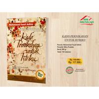 Buku Mohammad Fauzil Adhim - KADO PERNIKAHAN UNTUK ISTRIKU