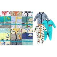 Sleepsuit jumper Bayi Laki 3in1 Tutup Kaki