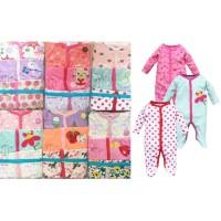 Sleepsuit jumper Bayi Perempuan 3in1