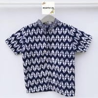 Baju Batik Anak Laki-laki / Baju Koko / Kemeja Batik Anak Laki T07