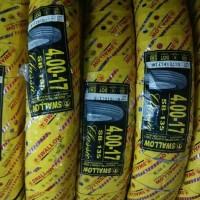 PAKETAN BAN LUAR SWALLOW CLASSIC UK 400 /450 RING 17 DAN 2 BAN DALAM