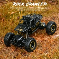 Mainan RC Mobil Monster Truck Off-Road 4WD 2.4G Skala 1: 16