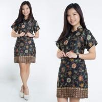 Dress Batik Jumbo Kipa Shortdress Cheongsam Wanita