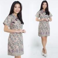 Dress Batik Jumbo Onin Shortdress Cheongsam Wanita