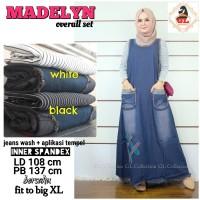 madelyn over all jins overall bahan jins overall baju hamil