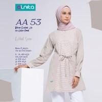 Atasan Kaos Combed + Alnita AN-AA53 + Tunik Original Branded