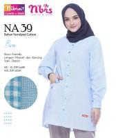 Atasan Salur Kotak-Kotak + Nibras NB-NA39 + Original Brand Terlaris