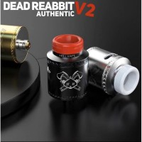 DEAD RABBIT V2 RDA 24MM AUTHENTIC BY HELLVAPE FOR ATOMIZER VAPORIZER