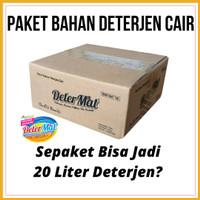 Paket Bahan Deterjen Cair - Determat (Bukan Snowflake atau Boelly)
