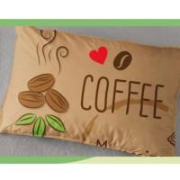 Balmut / Bantal Selimut Ilona 150x200cm motif COFFEE TIME