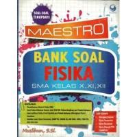 ORIGINAL BEST SELLER MAESTRO BANK SOAL FISIKA SMA , MUSLIHUN . GRASIN