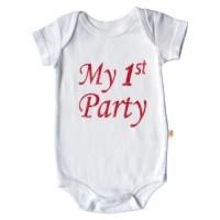 Baju Bayi Perempuan PLEU Kodok 1st Party