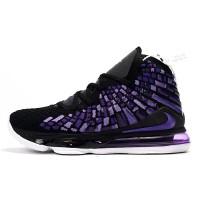 Sepatu Nike Lebron 17 Black Purple Premium Original